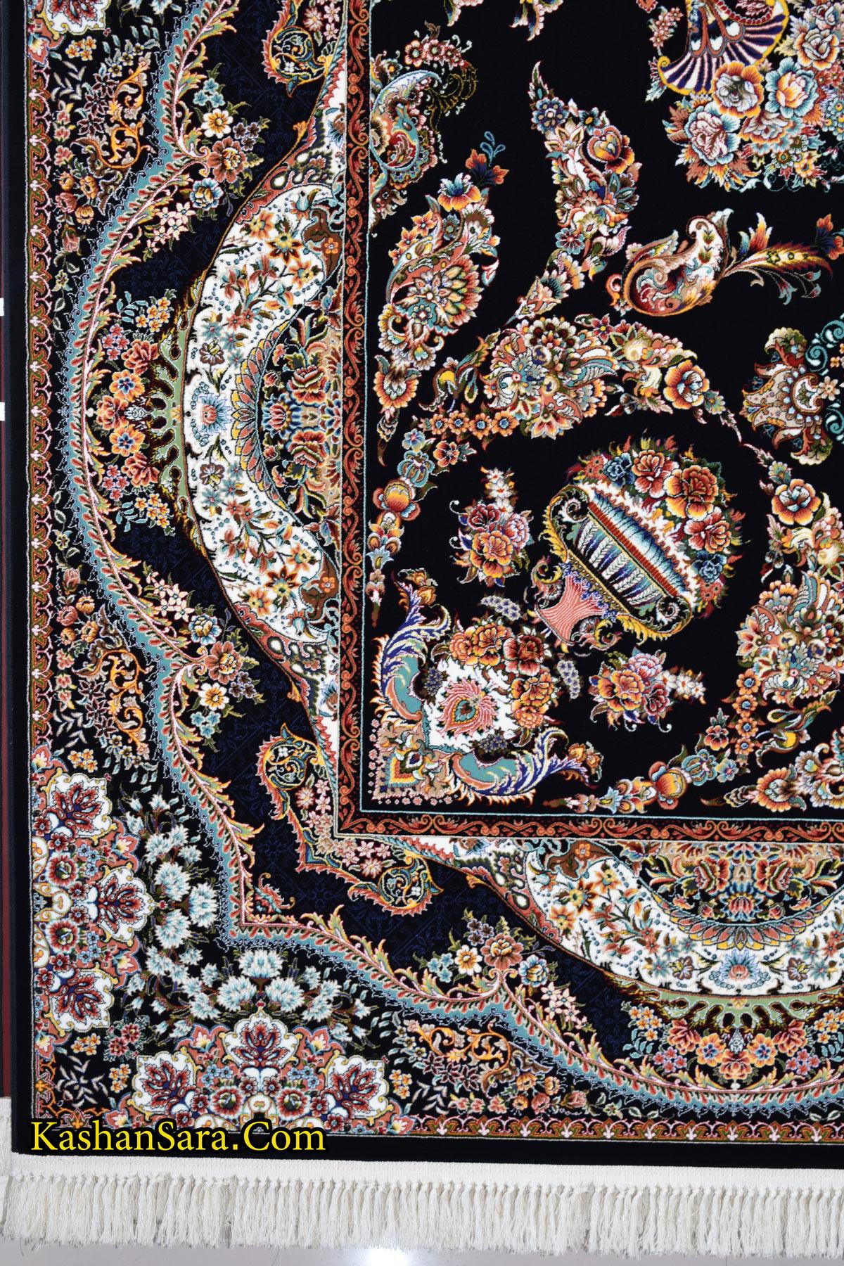 قیمت فرش ۱۰۰۰ شانه طرح پونه