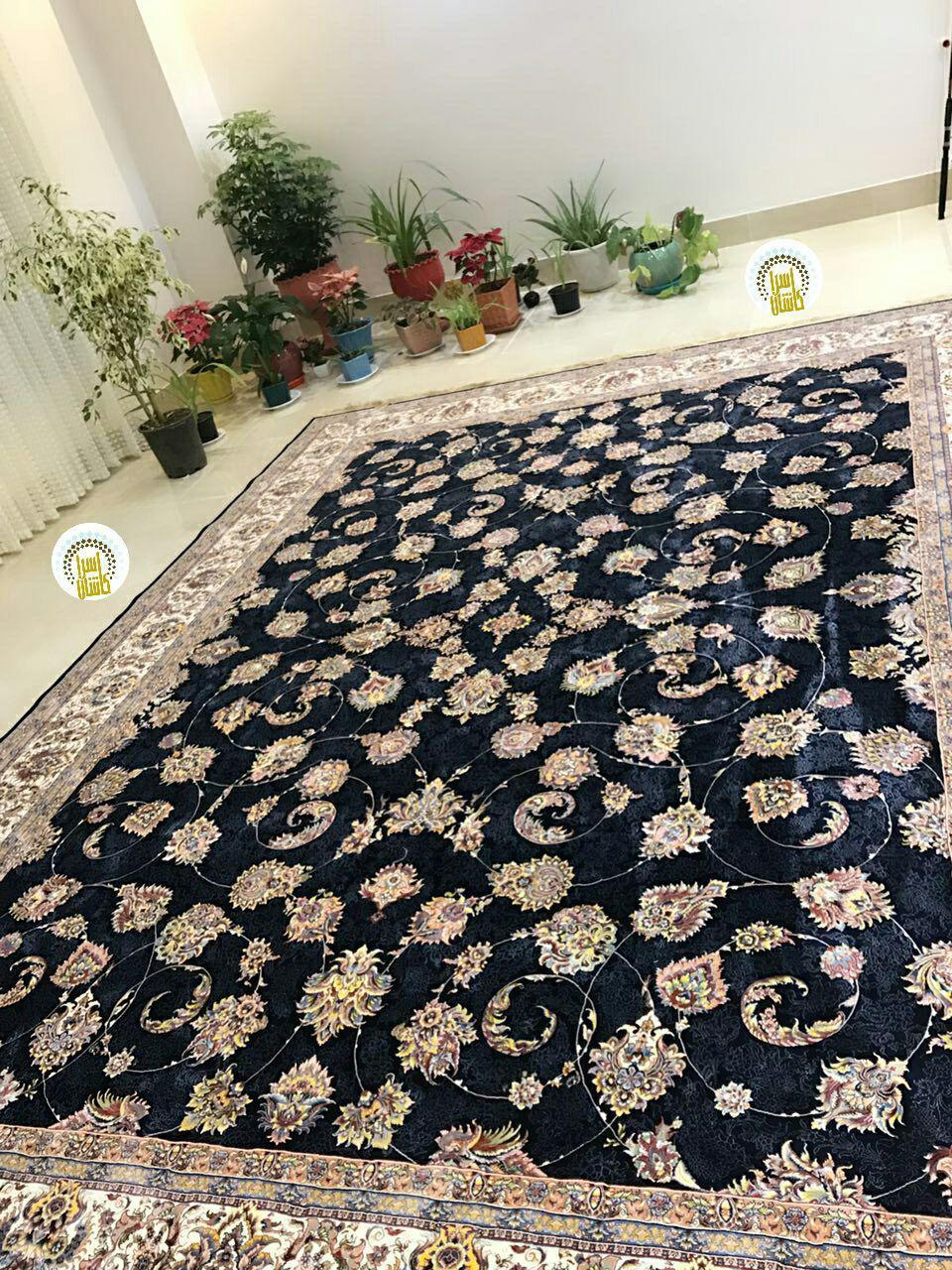 فرش زیبای ۱۲۰۰ شانه تراکم ۳۶۰۰ نقشه یادگار
