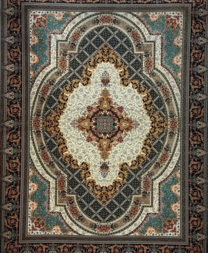 قیمت فرش 1200 شانه طرح زرنگار
