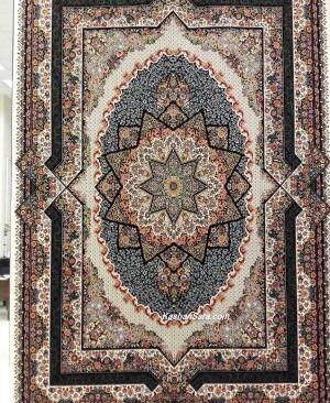 فرش 700 شانه تراکم 2550 طرح عرفان محصولی از فرش کاشان