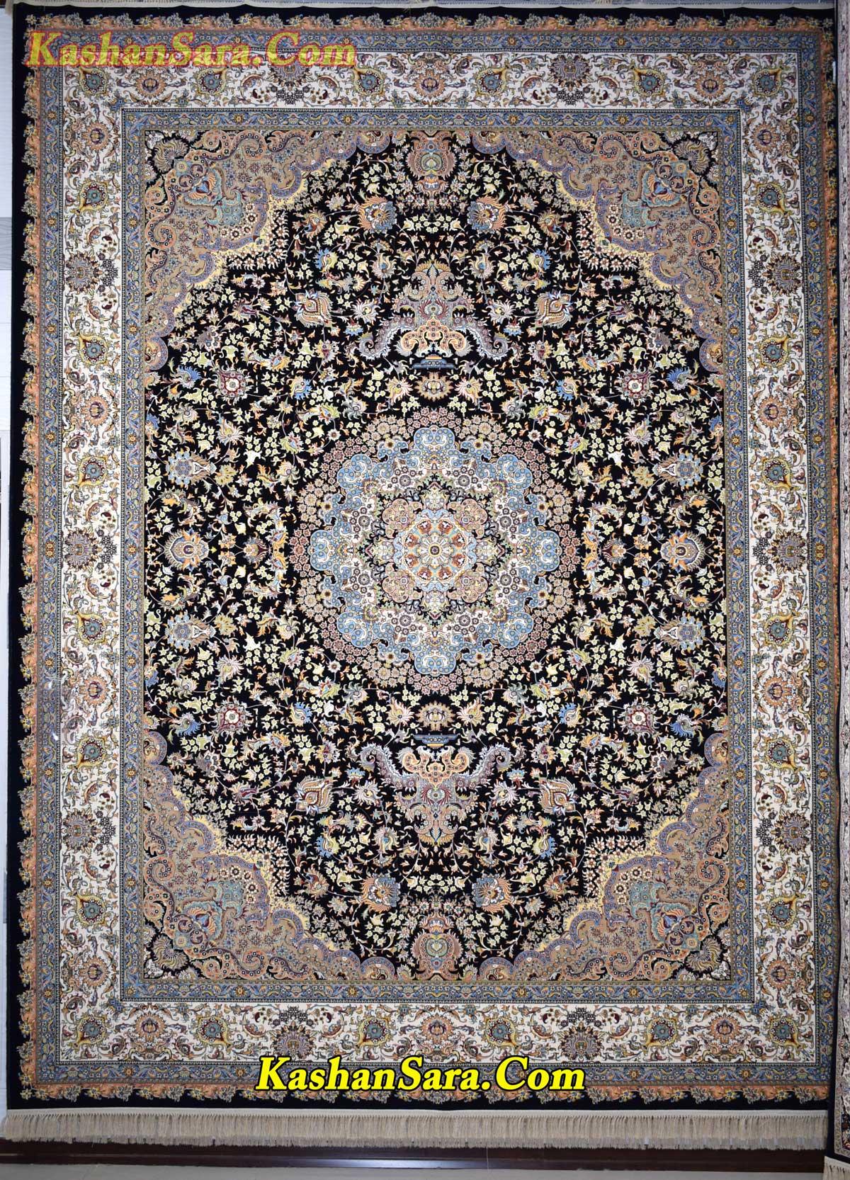 فرش ۱۲۰۰ شانه کاشان نقشه یلدا