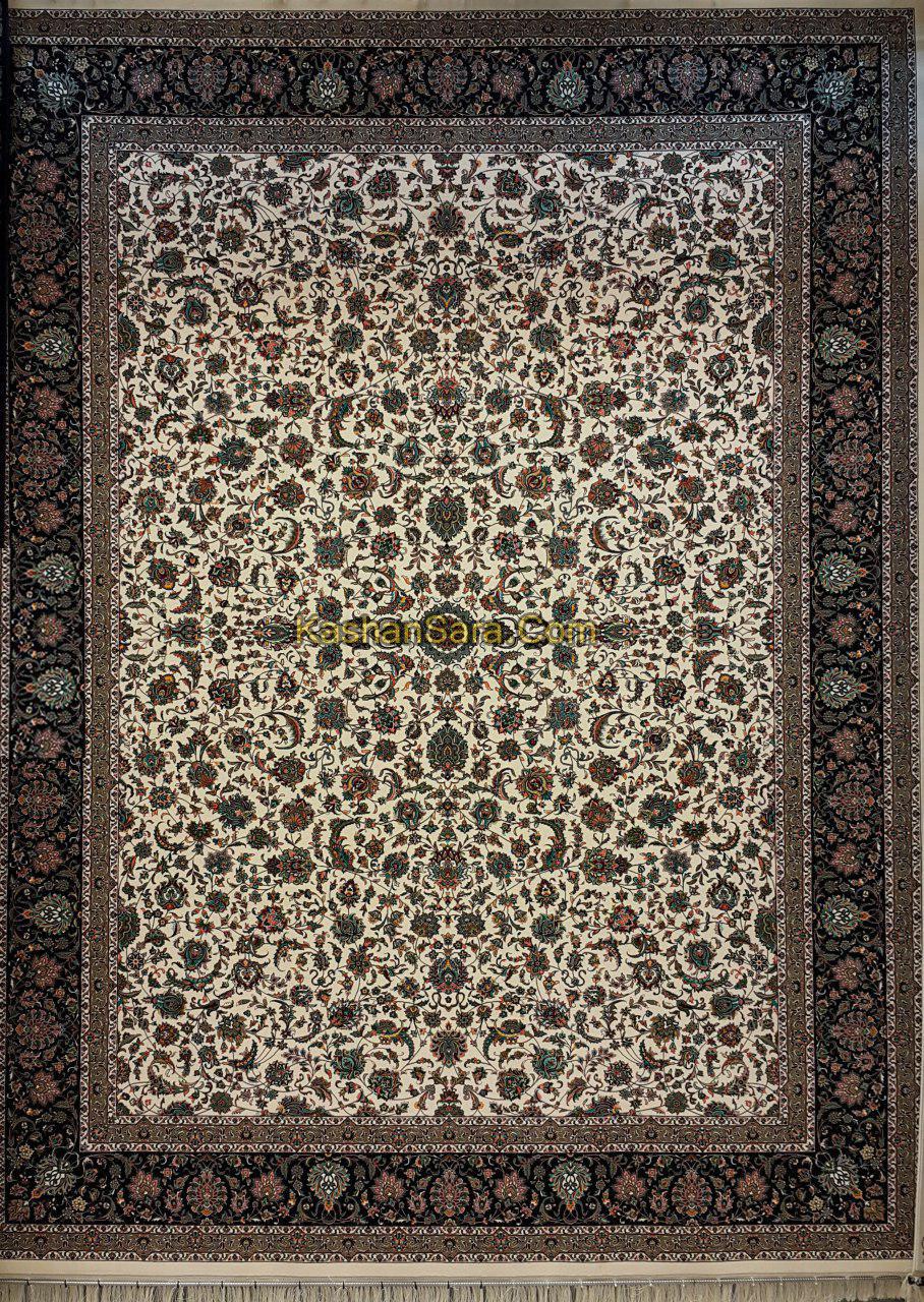 فرش ماشینی ۱۲۰۰ شانه طرح افشان