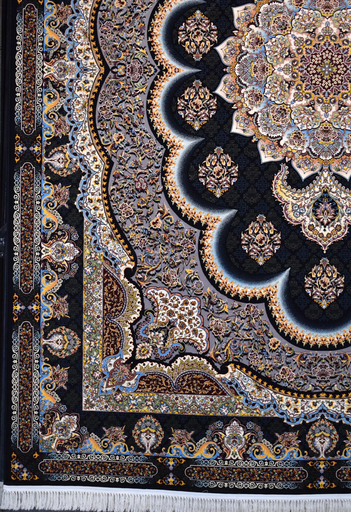 فرش ۱۲۰۰ شانه کاشان نقشه سامی