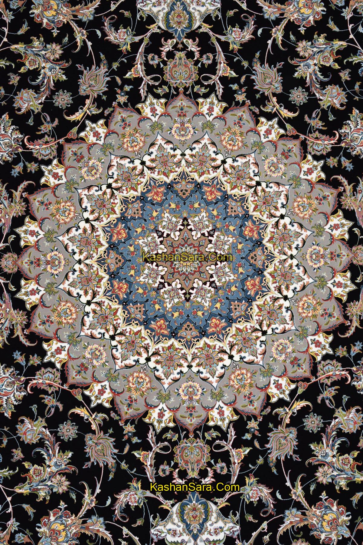 فرش ماشینی ۱۲۰۰ شانه نقشه اصفهان