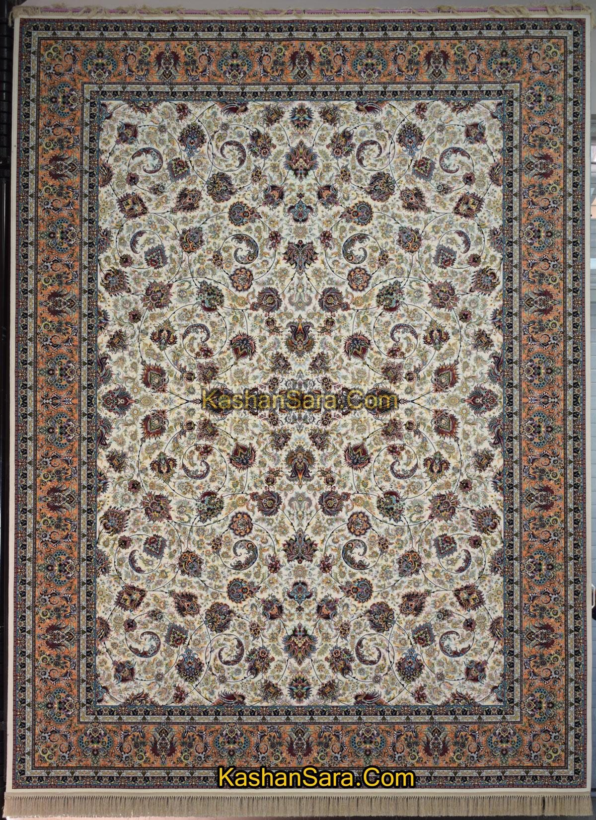 فرش افشان یادگار ۱۲۰۰ شانه-فرش کاشان