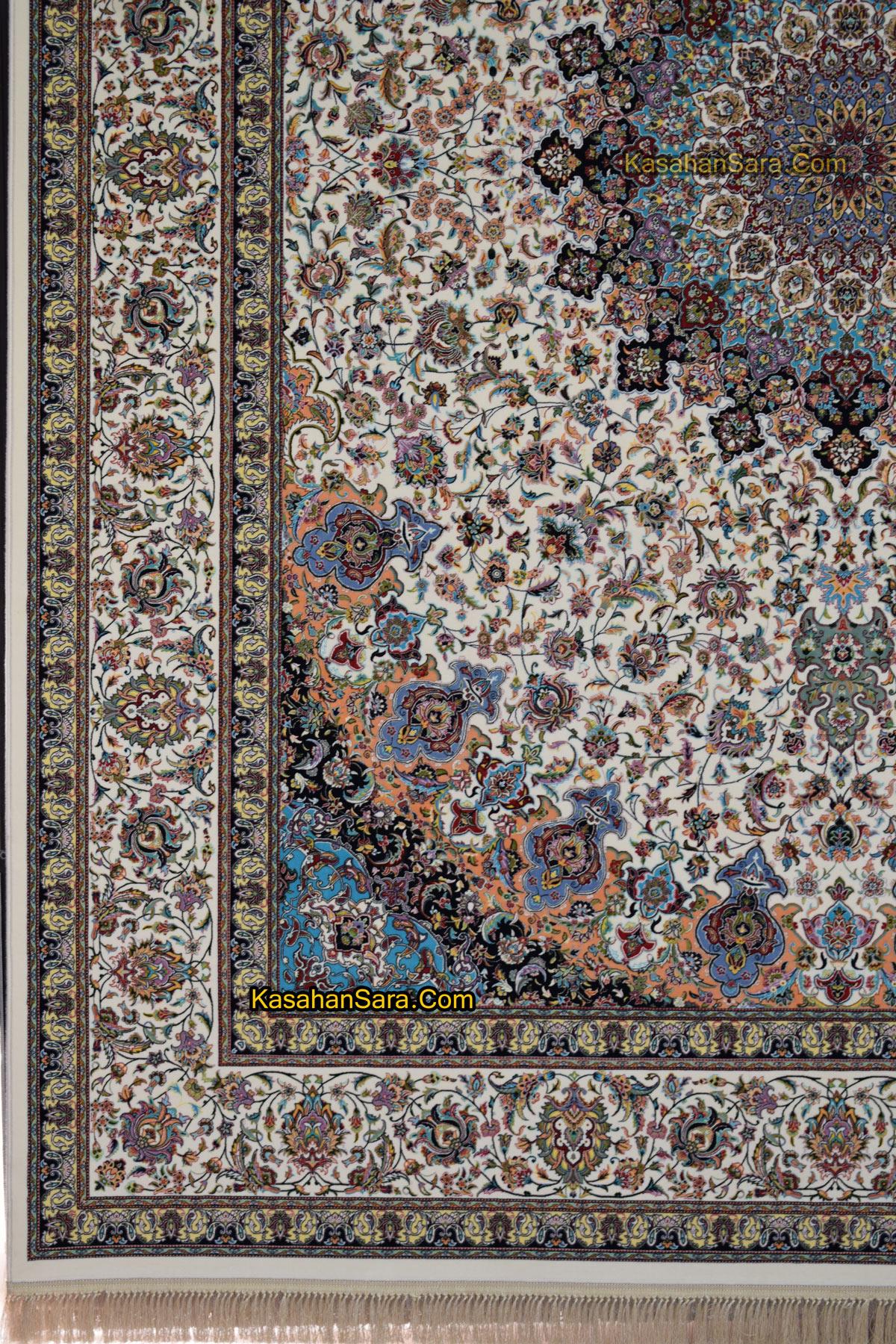 فرش کاشان نقشه نایین ۱۲۰۰ شانه