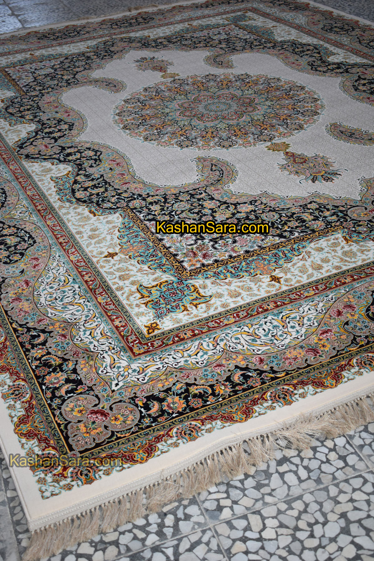 قیمت فرش ۱۲۰۰ شانه سالار کرم