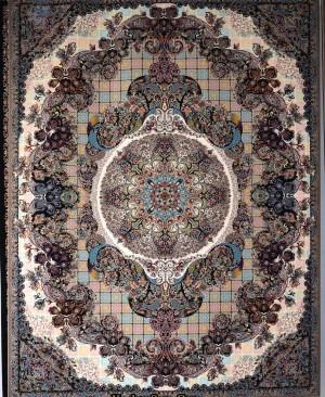 فرش هزار شانه-طرح آنتیک (فرش کاشان)