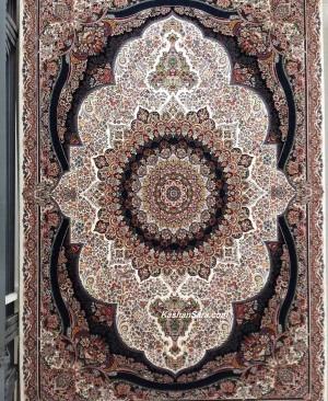 خرید اینترنتی فرش طرح پرهام کرم