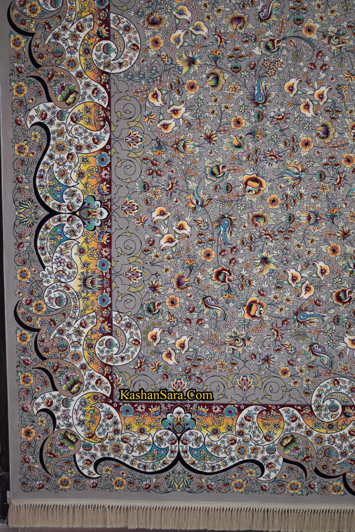 قیمت فرش ۱۲۰۰ شانه طرح میگل