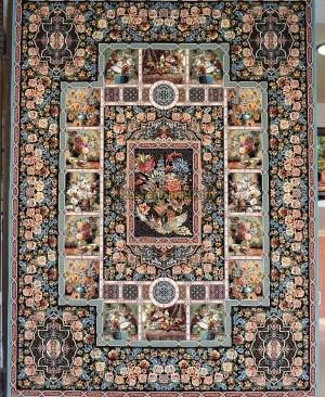 فرش زیبای باغ ارم