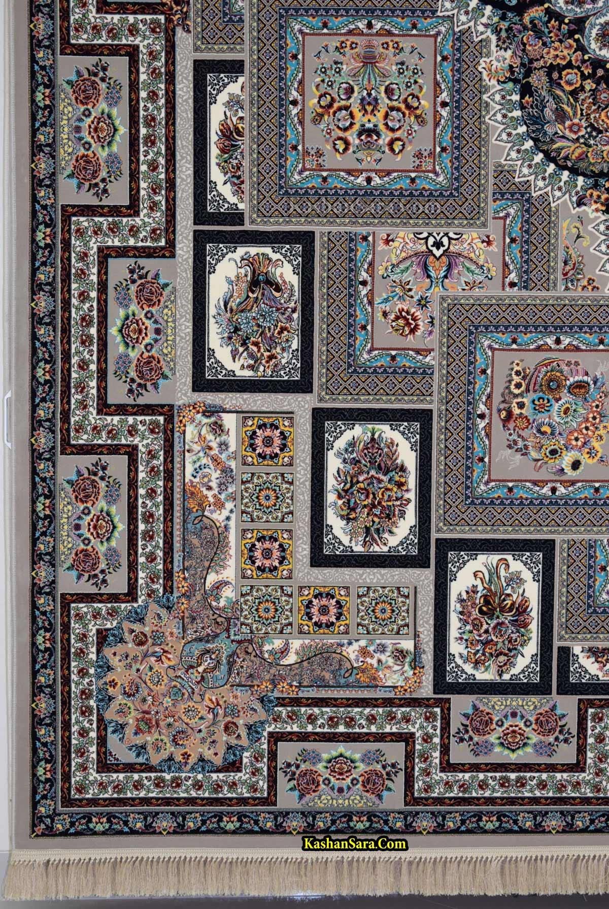 فرش ماشینی نقشه یگانه ۱۲۰۰ شانه